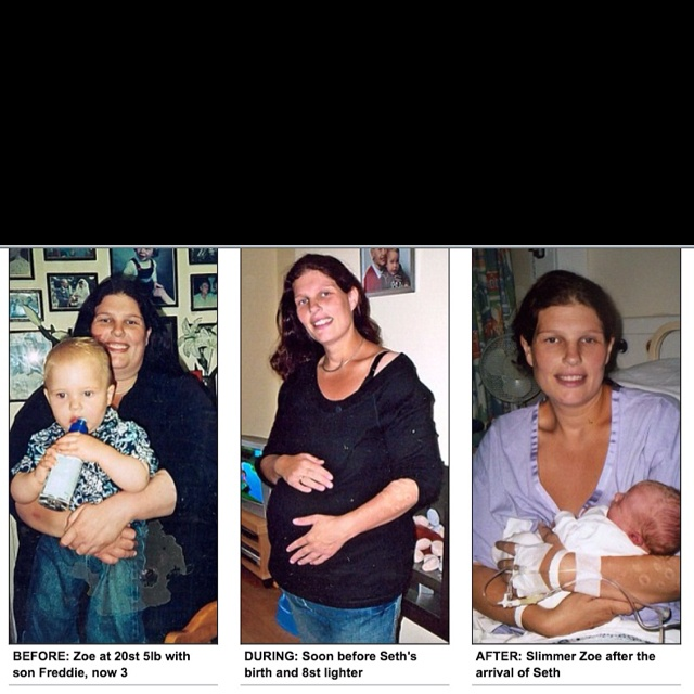 Mom loses weight while pregnant!   Fit Pregnancy ...