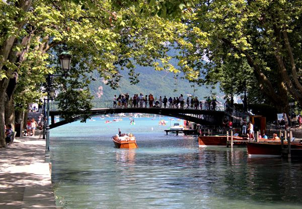 Travelling with kids in Annecy, France