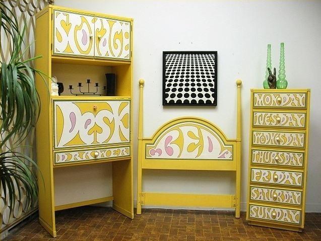 Drexel Plus One Bedroom Set Circa 1970