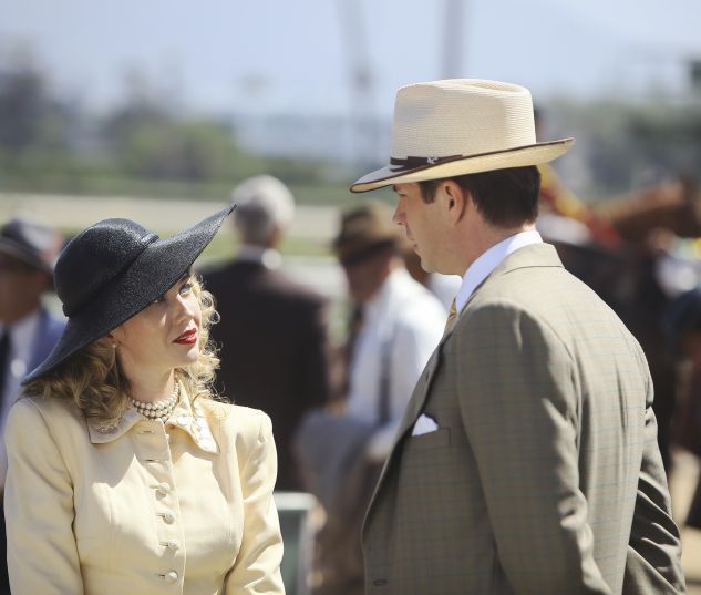 Whitney Frost (Wynn Everett) & Jarvis (James D'Arcy) in Marvel's Agent Carter