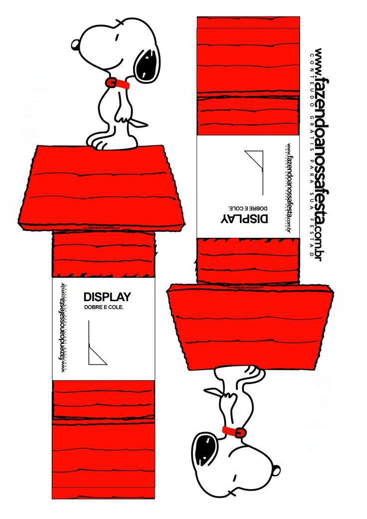 Clique aqui para Salvar o Display do Snoopy em alta resolução: