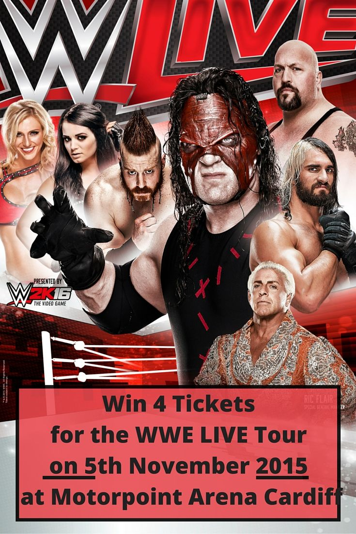 Win 4 Tickets for the WWE Live Tour