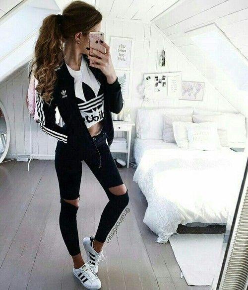 gorgeous outfit negro juvenil 8