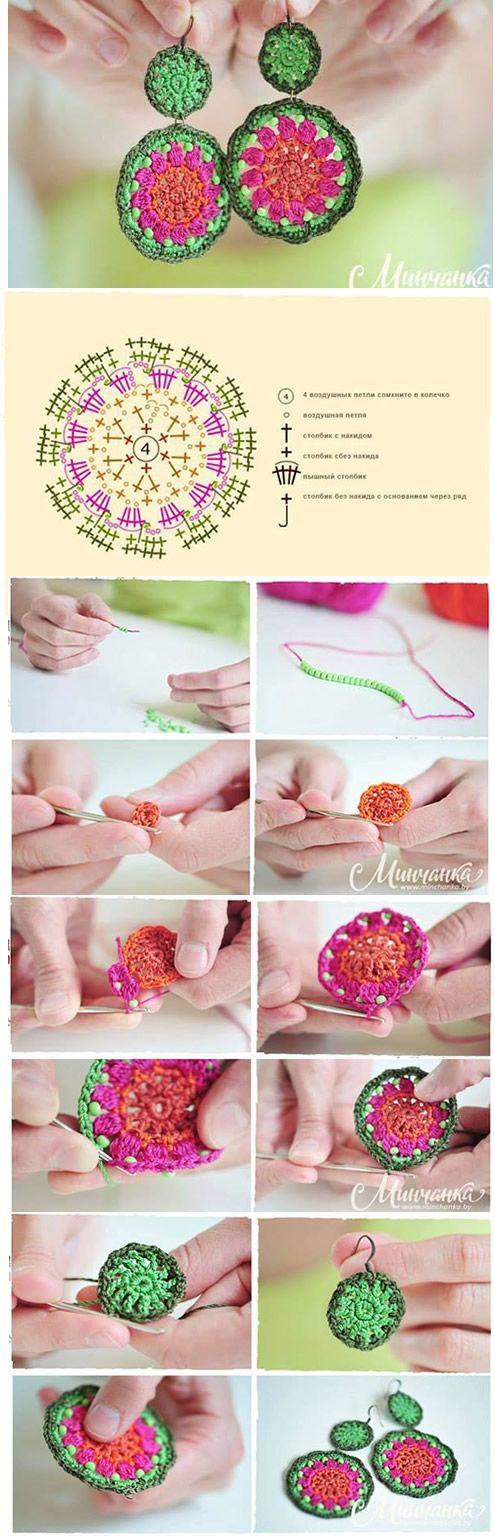Aros Tejidos - Crochet
