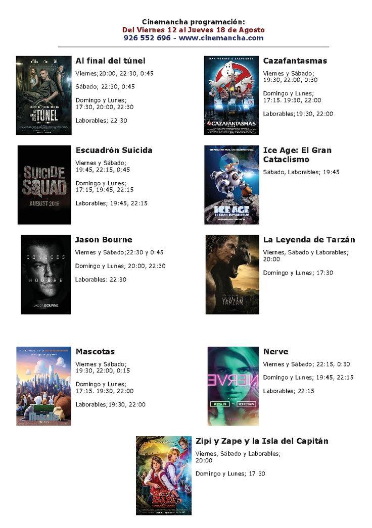 Cartelera Cinemancha del 12 al 18 de agosto - https://herencia.net/2016-08-12-cartelera-cinemancha-del-12-al-18-agosto/?utm_source=PN&utm_medium=herencianet+pinterest&utm_campaign=SNAP%2BCartelera+Cinemancha+del+12+al+18+de+agosto