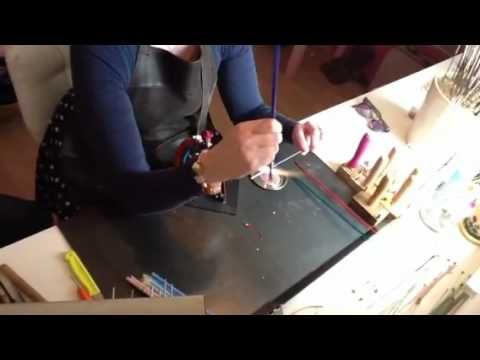 Sfeerimpressie Glasbrandworkshops Ladies Afternoon.