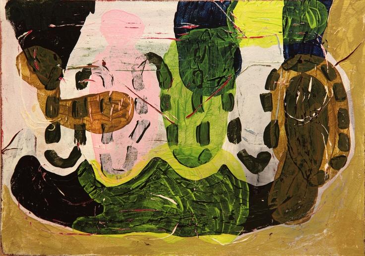 Mind Map #15 (2011) Painting by Norwegian artist Øyvind Suul. #art #painting #suul #2D #Norway