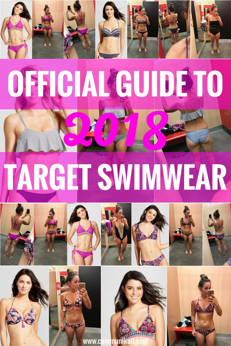 Official Guide To Target Swimwear 2018 - Dressing Room Diaries: Target Swimwear 2018 - Target Swimsuits - Target Women's Swimsuits - How Do Target Bikinis Fit - Swimsuit Guide - Summer 2018 Style - Fashion - Communikait by Kait Hanson