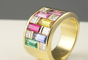 gold ring - Adorn Jewels