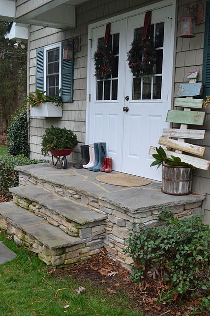 Masonry Steps: 25+ Best Ideas About Front Door Steps On Pinterest