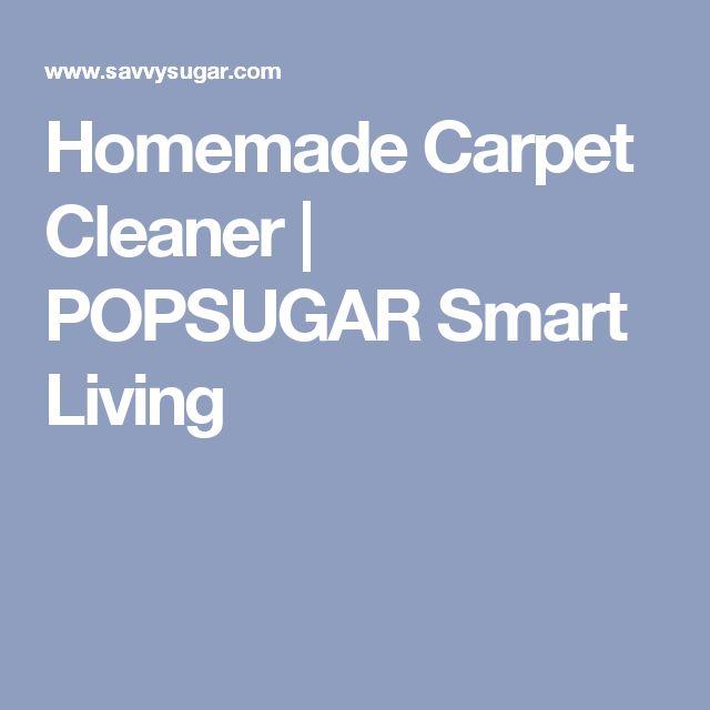 Homemade Carpet Cleaner | POPSUGAR Smart Living
