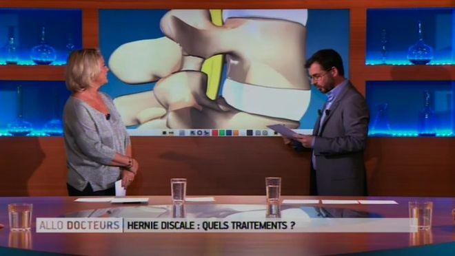"""Vous avez mal au dos, comme 70% des Français ? Ce sont peut-être vos disques, ces petits """"coussins"""" situés entre les vertèbres de la colonne vertébrale pour amortir les chocs. C'est quand ils s'abîment que la hernie discale apparaît, et les douleurs avec. Quelles sont les solutions en cas de hernie discale?"""