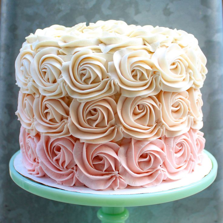 How To Design A Cake Using Butter Icing : Best 25+ Buttercream designs ideas on Pinterest ...