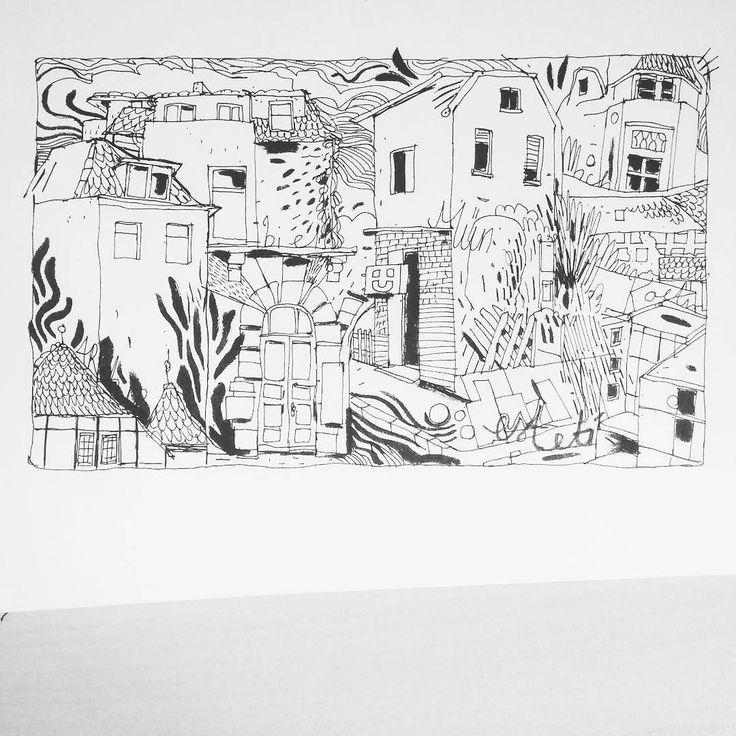 Inktober no13 - all of houses you've lived in #inked #inktober #inktober2016 #houses #city #stadt  ___ #illustration #art #artist #instaart #dailyart #artoftheday #doodleartist #pen #pencil #drawing #drawings #sketch #scribble #picoftheday #sketchbook #doodle #kunst #dessin #dibujo #newartwork #instadaily