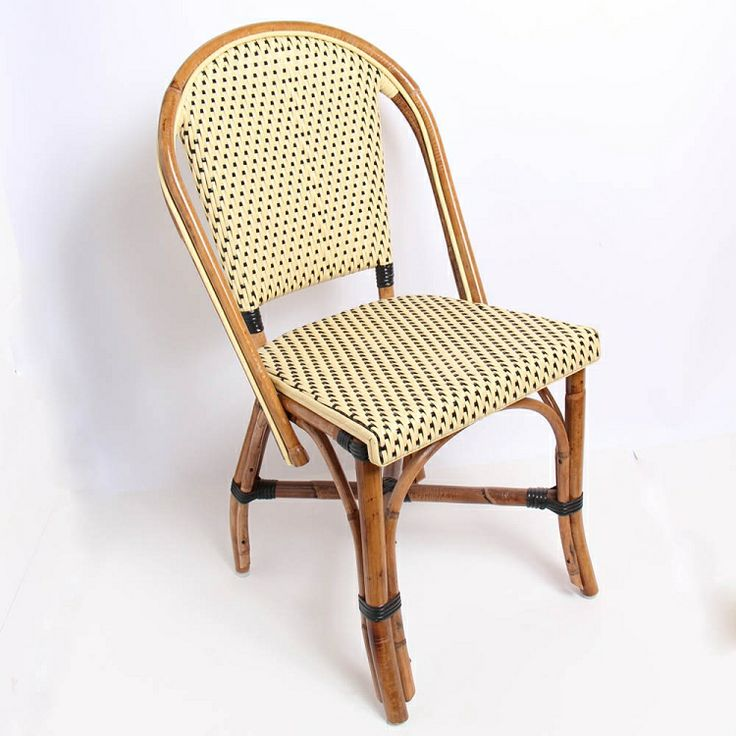 Bistro Cognac Brown Chair: French Bistro Chair Indoor/Outdoor