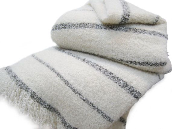Lambswool and Angora Mohair Queen King Size by AlpacaBlankets, $399.00