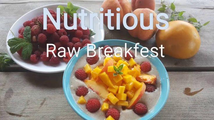Pożywne raw-śniadanie