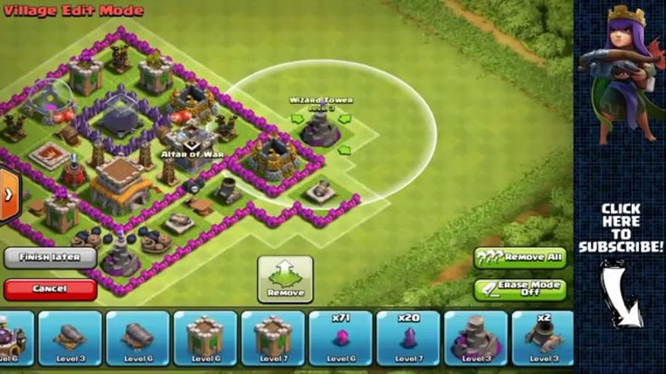 Clash of Clans UPDATE Town Hall 8 Farming Base with Town Hall Inside