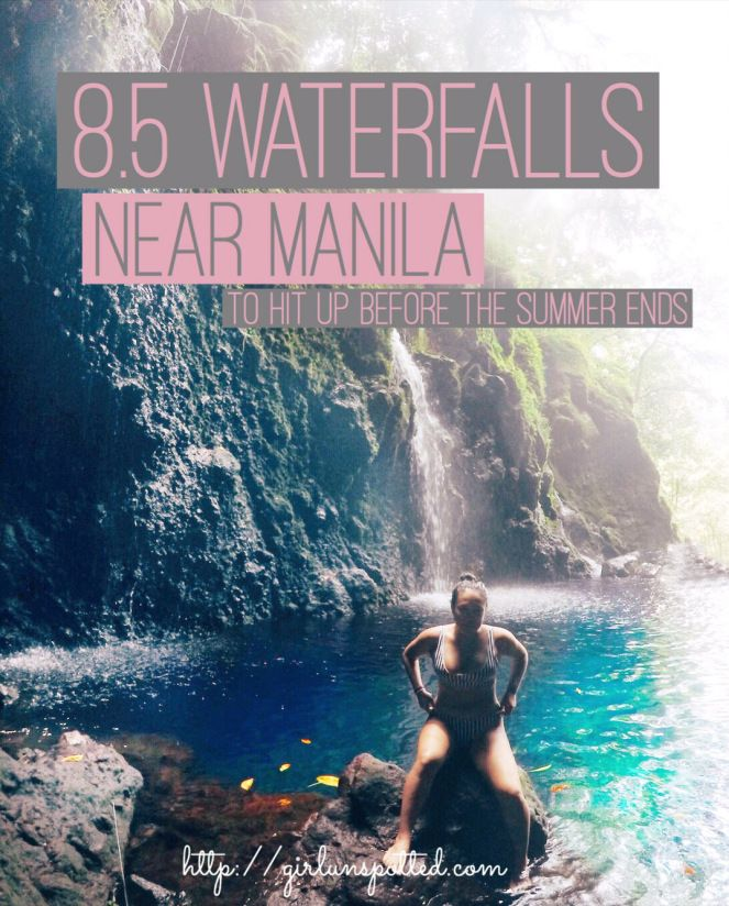 PHILIPPINES: 8.5 Waterfalls Near Manila To Hit Up Before The Summer Ends