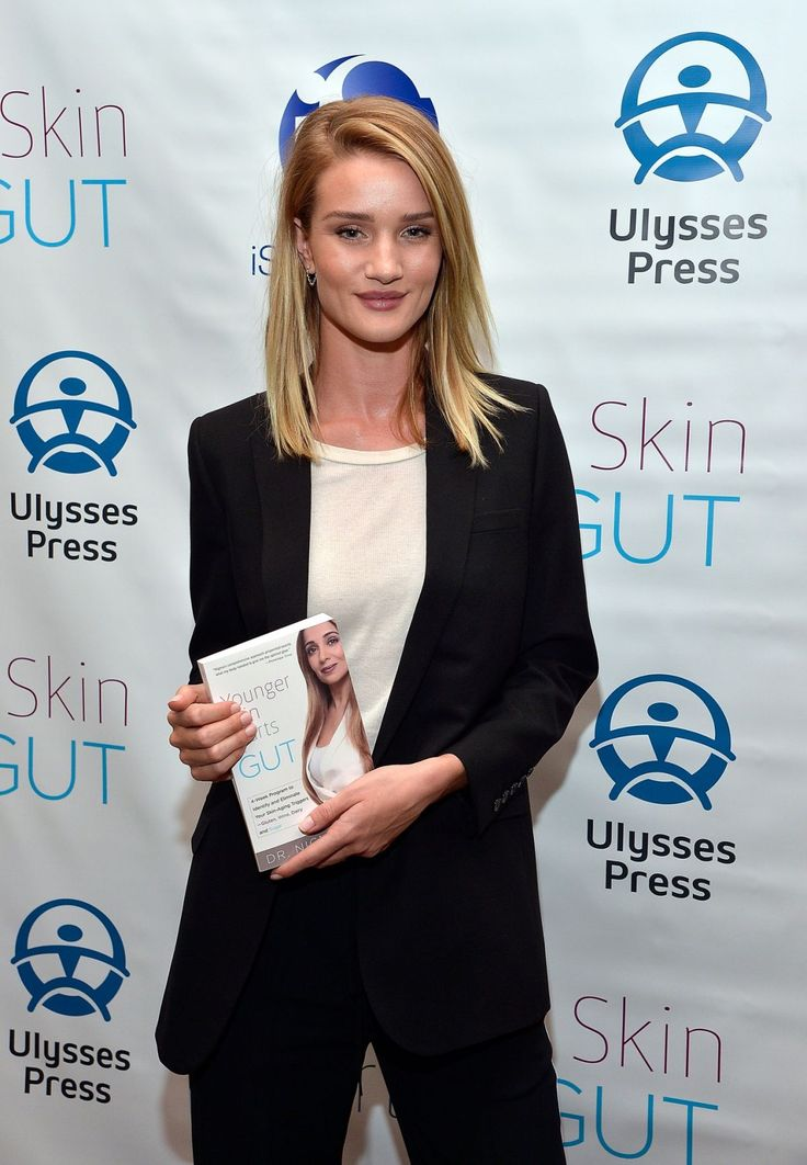 Rosie Huntington-Whiteley attends the ''Younger Skin Starts In The Gut'' Book Launch Party http://celebs-life.com/rosie-huntington-whiteley-attends-younger-skin-starts-gut-book-launch-party/ #rosiehuntington-whiteley
