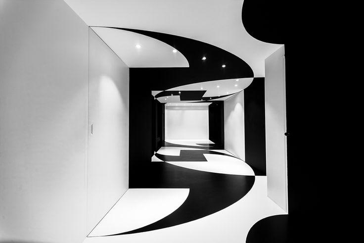 Офис-лабиринт Agoratic в 13-м округе Парижа