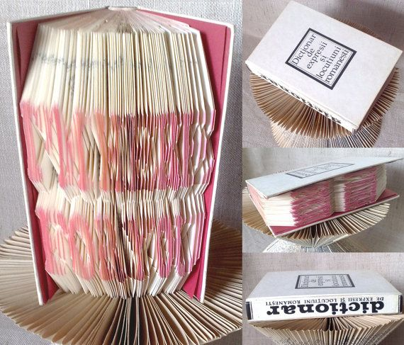 Folded book  I'm Here For You  Finished product  by PatternsStore
