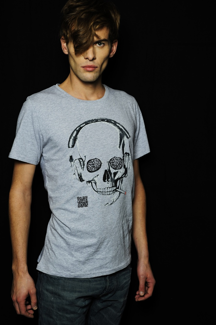 #addmyberry #brand #tee #T-shirt #hype #rocknroll #belgian #sexy #qr #code #fashion #dj #skull #cigarette #party