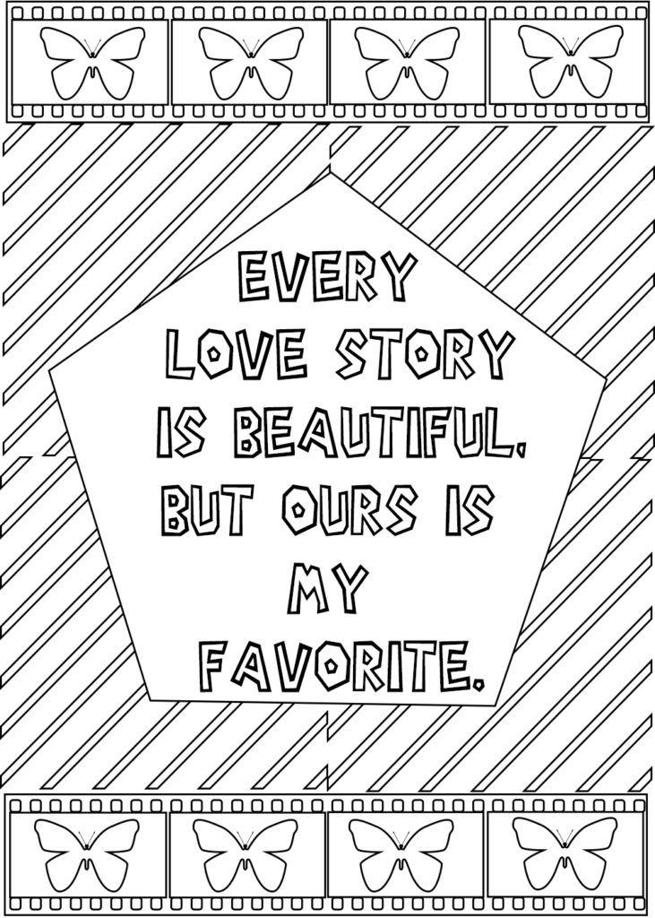 Love Quotes For Him Coloring Pages Quote Coloring Pages Words Coloring Book Love Coloring Pages
