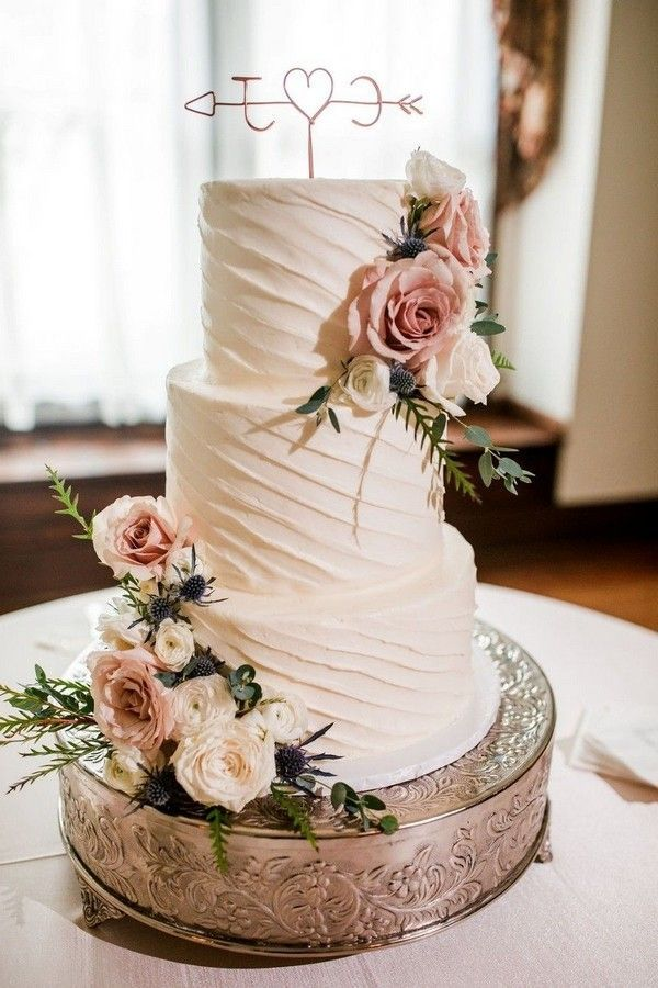20 Fabulous Spring Wedding Cakes for 2021 - Oh Best Day