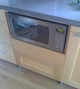 home improvement where to put that microwave tips and kitchen design ideas microwave drawer and more under counter