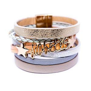 Diabetes Bracelet - You're a star, Gold