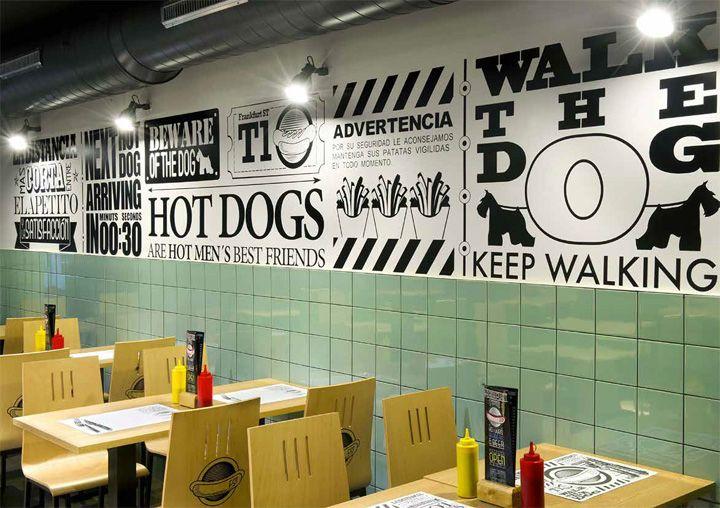 Frankfurt Station fast food restaurant Barcelona