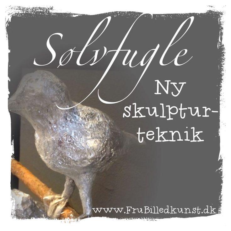 Sølvfugle - en ny slags skulptur