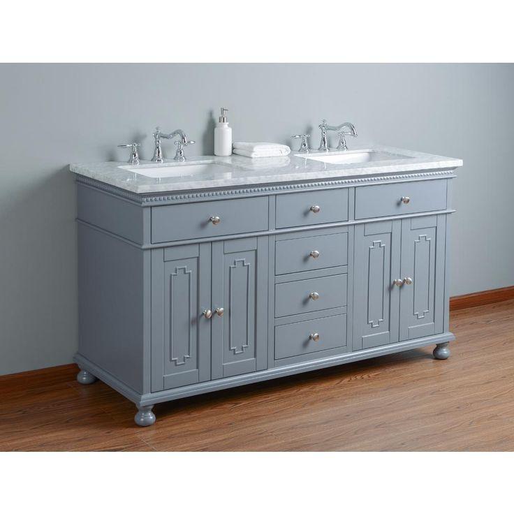 36 Best Vanities For Bathrooms Images On Pinterest Solid Wood Bath Vanities And Double Sinks