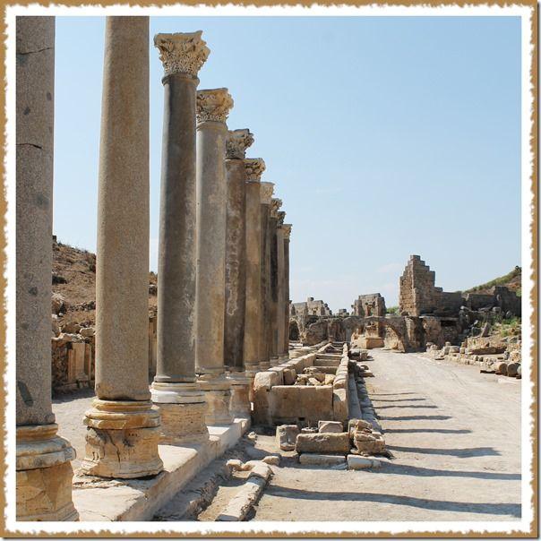 Archeology Adventures at Perge near Antalya, Turkey