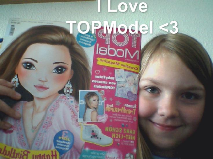 Lina findet TOPModel richtig klasse und hat uns spontan dieses Überraschungs-Foto gemailt. Wir sagen DAAANKE!!!