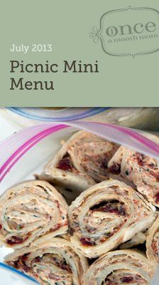 Ditch the Sandwiches with this Picnic mini menu- freezer friendly!  #picnic #summerfun #freezercooking