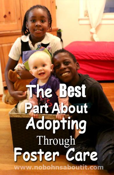 The Best Part About Adopting Through Foster Care - No Bohn's About it
