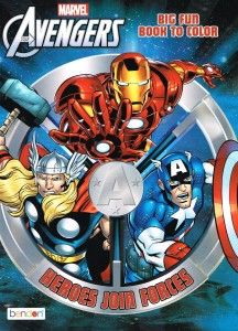 Marvel Mighty Avengers® Coloring and Activity Book Set of  2 The books also contain  activities like word searches, word scrambles, mazes, etc, to keep your child busy. It has a good variety of pictures. If your child is a fan of Super Heros or avengers, this is for him.  http://awsomegadgetsandtoysforgirlsandboys.com/creative-easter-basket-ideas/ Marvel Mighty Avengers® Coloring and Activity Book Set of  2