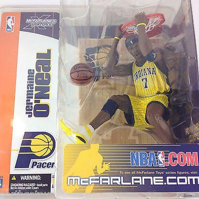 Mcfarlane NBA Series 4 Jermaine O'neal Mcfarlane Figure Indiana Pacers