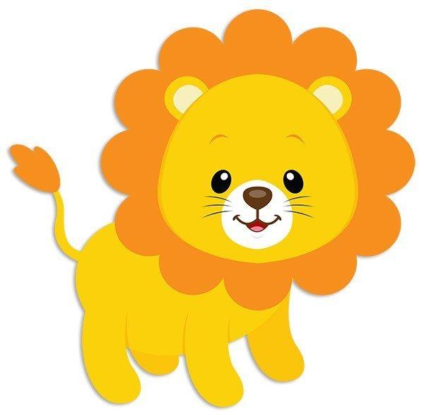 Vinilos Infantiles: León Tom 3