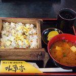 四万十郷 水車亭 - 料理写真:おふくろ風蒸し寿司