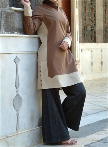 SHUKR International | Contrast Tunic