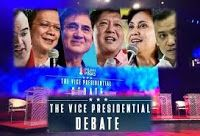 The Vice Presidential Debate April 10 2016   The Vice Presidential Debate April 10 2016 full replay Pal Marquez vice president for news and current affairs of CNN Philippines has said that the debate will be in dual moderator and town hall format. The candidates will debate about corruption poverty political dynasties human rights peace and order traffic and other urban problems connectivity and foreign policy. The event organized by CNN Philippines will be held at the Quadricentennial…