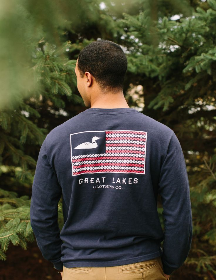 American Loon Long Sleeve l Great Lakes Clothing