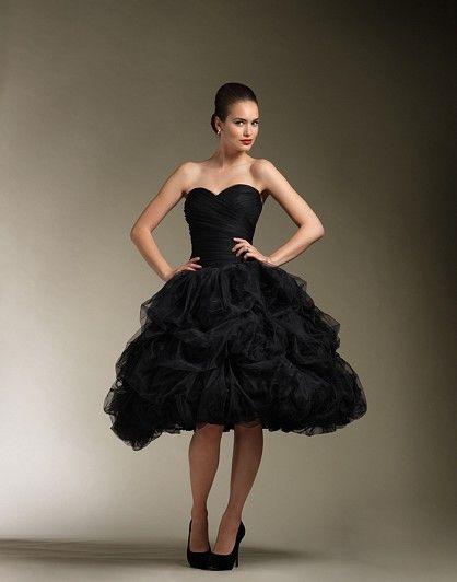 Wedding Gown Wednesday: Justin Alexander 8611 « Miss A™ http://askmissa.com/2012/09/26/wedding-gown-wednesday-justin-alexander-8611/: Wedding Dressses, Ball Gowns, Style, Knee Length, Black Wedding, Wedding Dresses, Weddings, Justin Alexander