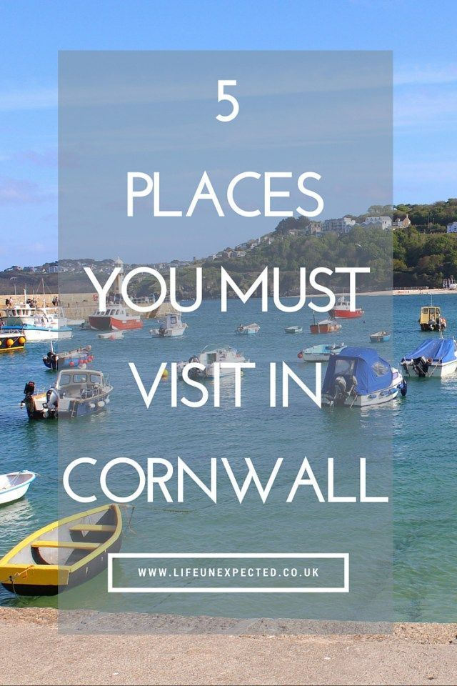 5 Places You Must Visit In Cornwall. Holidaying in Cornwall? Here are the places to visit, incuding the Eden Project, St. Michaels Mount and more.