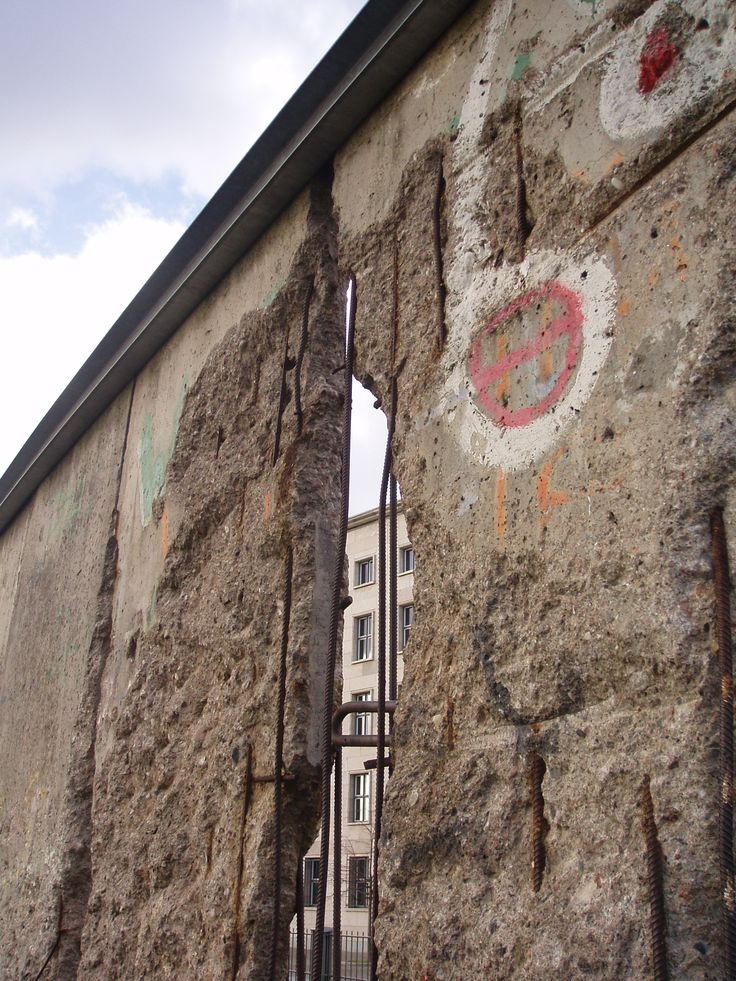 Another brick in the Berlin Wall