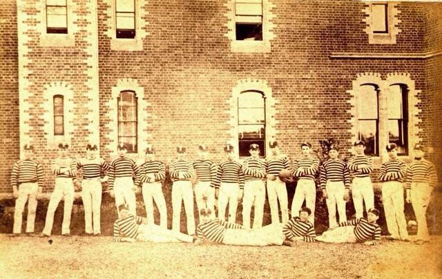 Geelong College Football Team 1880's