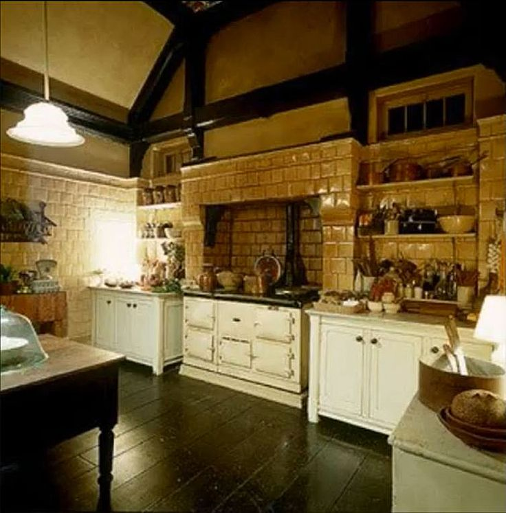 Subway tiles in the kitchen. Practical Magic: Tour This Beautiful Victorian Movie House